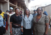 Faculty and CWO Leader; L-R Dr. Mrs. Ekwe, Mrs Mbah Chika, Dr Iloanusi