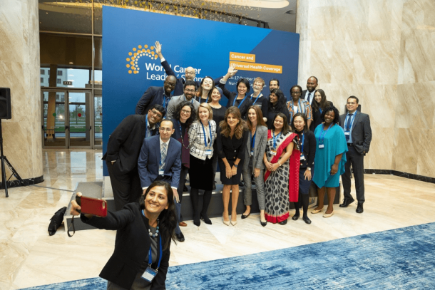 UICC Young Leaders' attending the World Cancer Leaders' Summit in Kazakhstan