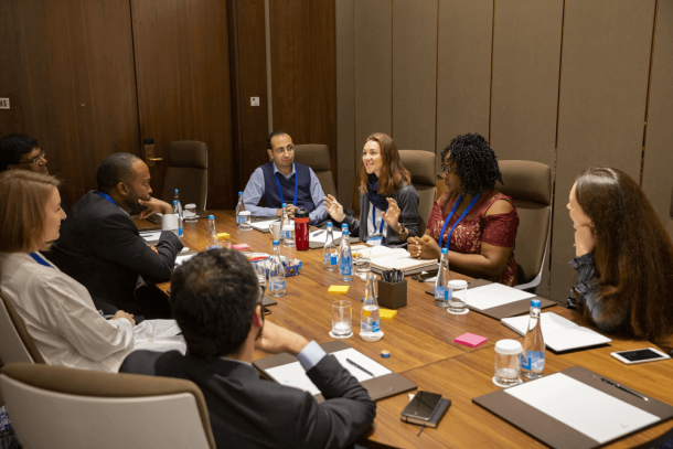 UICC Young Leaders' take part in a workshop at the 2019 World Cancer Leaders' Summit