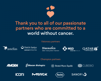 Thank you to all the partners of World Cancer Day who are committed to a world without cancer