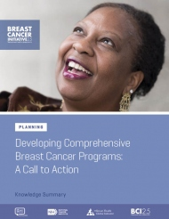 BCI 2.5 - Comprehensive Breast Cancer Control