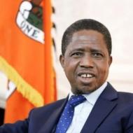 HE Mr Edgar Chagwa Lungu, President of Zambia
