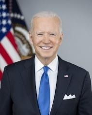 Joseph Biden, President of the United States of America