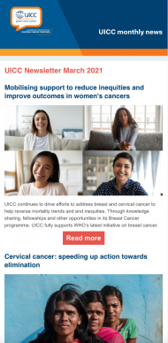 UICC March Newsletter