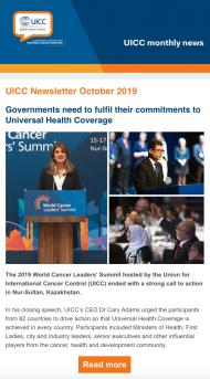 Members newsletter October 2019