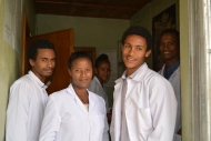 Staff members of Holeta Health Center in Ethiopia. © 2015 Willow Gerber, Courtesy of Photoshare
