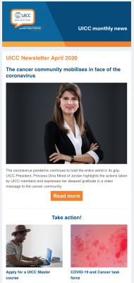 UICC Newsletter - April 2020