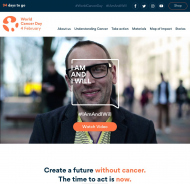 World Cancer Day Website