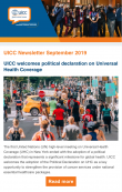 UICC newsletter, United Nations High Level Meeting, Tobacco control