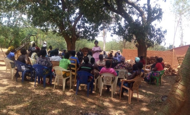 Community meeting with Traditional leaders and Health Center Advisory Committee (HCAC) members