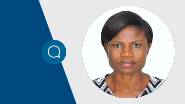 Comfort Asoogo, Oncology Nurse and Lymphoedema Specialist