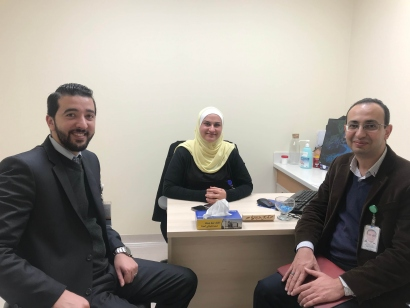 Young Leader, Ahmed Hefnawy, King Hussein Cancer Center, Gynecology, Womens Health