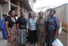 L-R: Mrs Eke Happiness, Dr. Mrs Ekwe, Mrs Mbah Chika, Dr. Iloanusi And A Participant