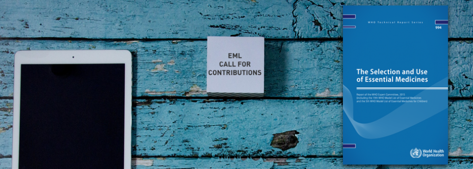 EML Call for Contributions