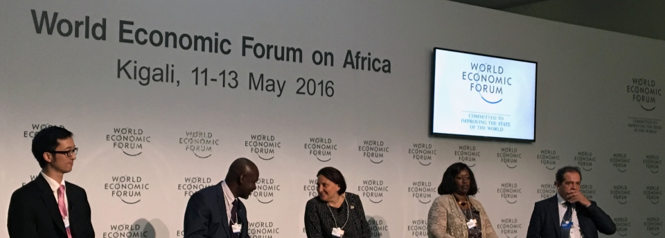 UICC session at WEF on Africa