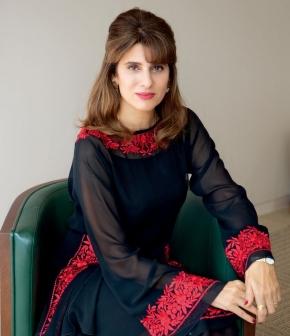 HRH Princess Dina Mired of Jordan, President of UICC (2018-2020)