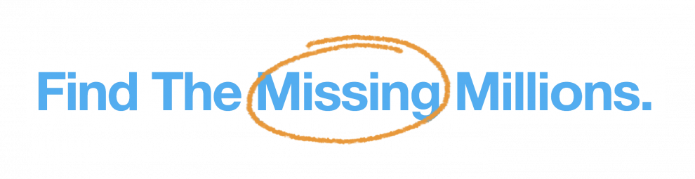 Find the Missing Millions logo blue text.png