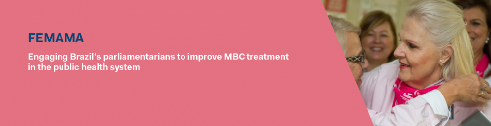 Engaging Brazil's parliamentarians to improve MBC treatment in the public health system