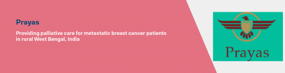Providing palliative care for metastatic breast cancer patients in rural West Bengal, India