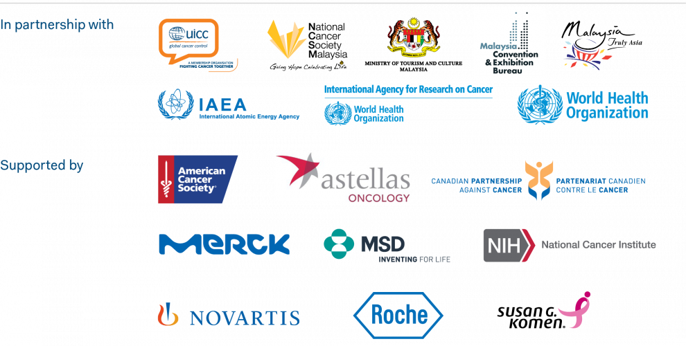 2018 World Cancer Leaders' Summit Partners and Supporters