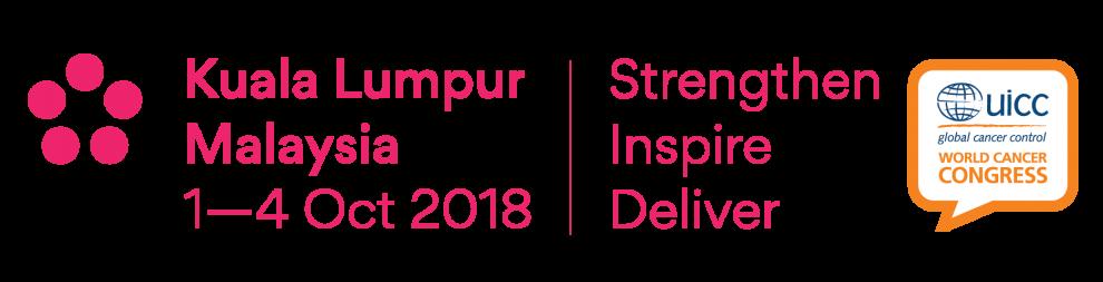 2018 World Cancer Congress logo