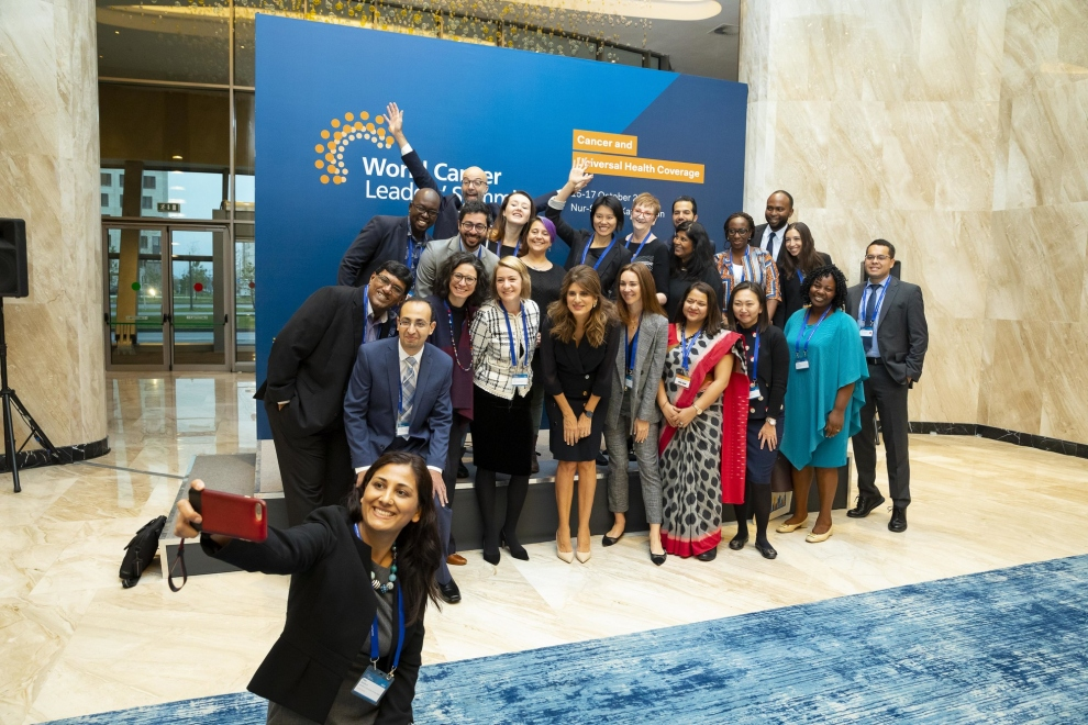 Young Leaders and Alumni at the World Cancer Leaders Summit 2019