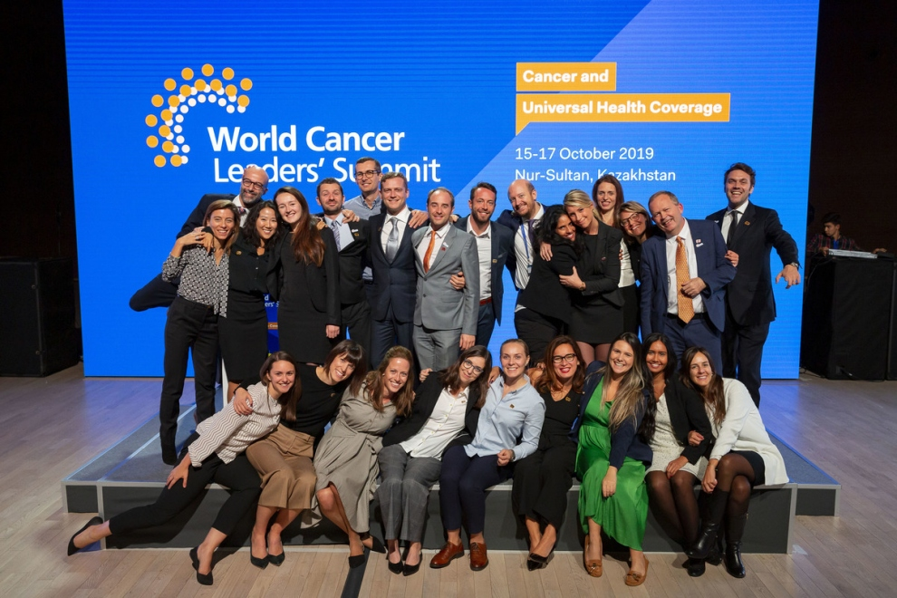 UICC Staff at the 2019 World Cancer Leaders' Summit in Nur-Sultan, Kazakhstan