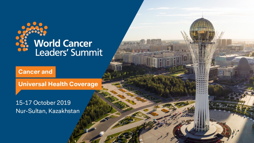 2019 World Cancer Leaders' Summit, Nur-Sultan, Kazakhstan