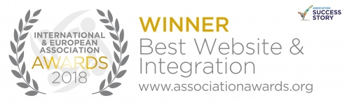 Winner badge for Best Website & Integration