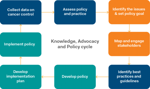 Knowledge, Advocacy and Policy cycle.png