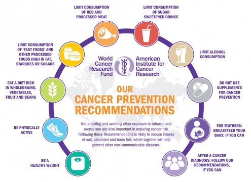 Cancer prevention recommendations - WCRF