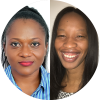 Dr Aba Scott and Dr Melinda Mushonga, Clinical Oncologists