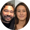 Silvano Gallus and Alessandra Lugo