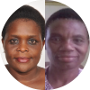 Maud Makasungula, Executive Director of WOCACA and Edna Tembo, Executive Director of COWLHA; Malawi