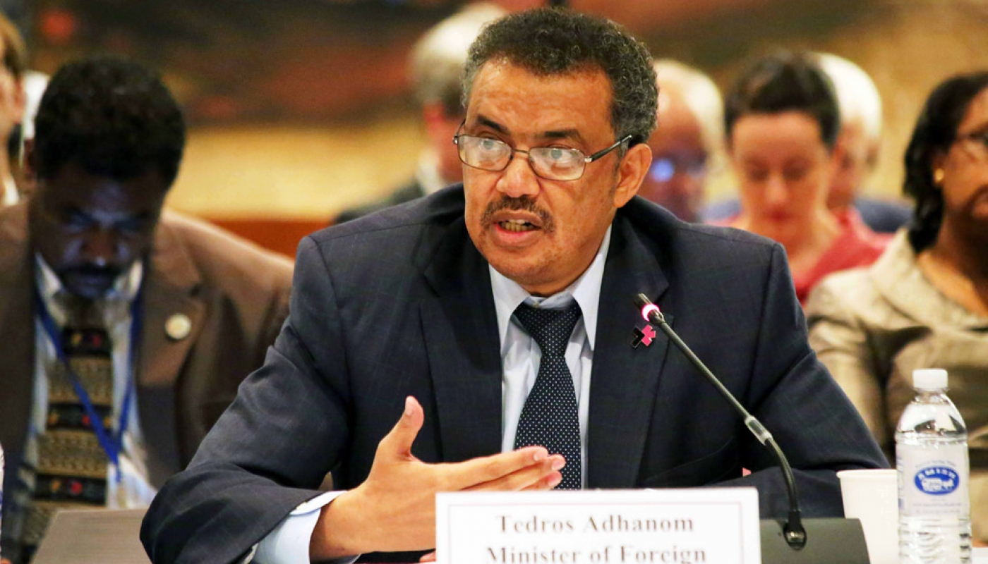 Dr Tedros Adhanom Ghebreyesus from Ethiopia elected as new WHO ...