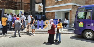 The Children's Cancer Center of Lebanon's Bus of Hope spreads awareness about cancer