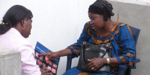 Client asking questions during a counselling session prior to screening for cervical cancer.jpg