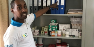 Eric Kabisa, Rwanda, Laureat BAF 1er appel