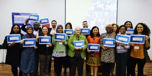UICC SPARC Awardees attend a workshop at the ABC5 conference in Lisbon