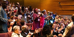 Celebrations at the 2018 General Assembly and awards ceremony, which took place in conjunction with the 2018 World Cancer Congress in Kuala Lumpur, Malaysia