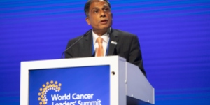 Prof Anil D'Cruz, President of UICC 2020-2022 and Director at Oncology Apollo Hospitals, presents his vision for UICC and cancer care