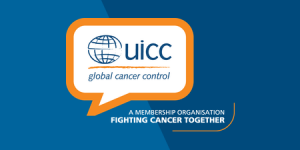 UICC logo on blue banner