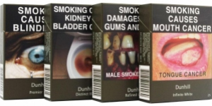 Examples of plain packaging