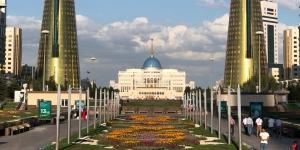 Cityscape of Nur-Sultan, Kazakhstan