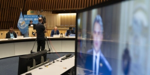 73rd World Health Assembly was held virtually for the first time (c) UN Photo