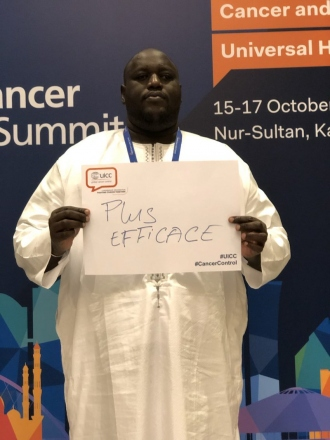 Mansour Niang, Secretary-General of the Ligue sénégalaise contre le cancer