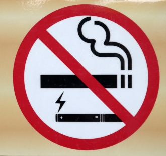 No smoking and no vaping sign